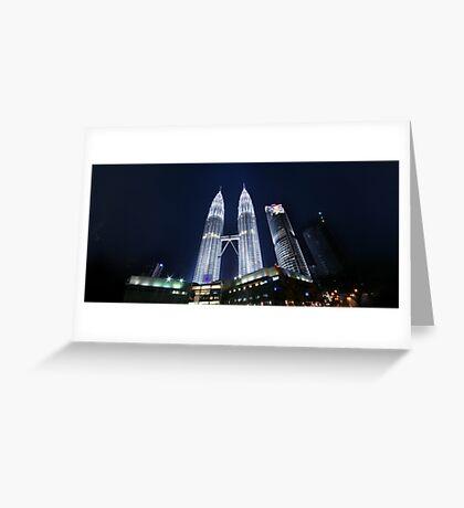 Petronas Panorama Greeting Card