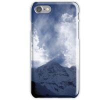 South Annapurna Clouds iPhone Case/Skin