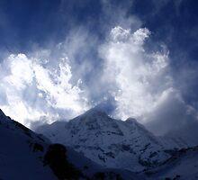 South Annapurna Clouds by aidan  moran