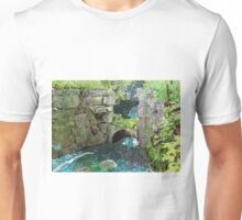 Spillway at the Old Mill Unisex T-Shirt