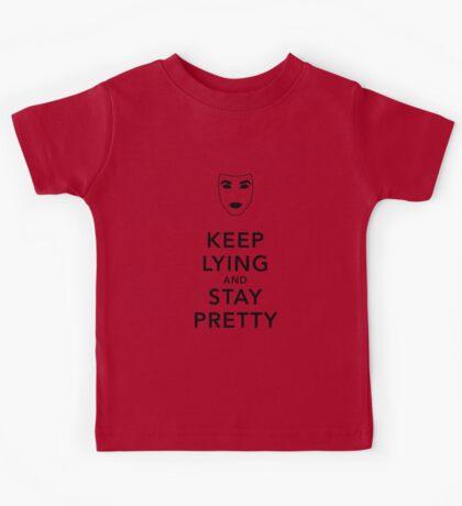 Keep Lying and Stay Pretty Kids Tee