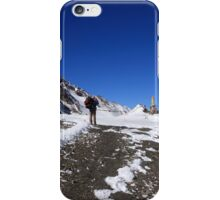 Approach To The Pass iPhone Case/Skin