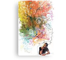 Imagination is Limitless Metal Print