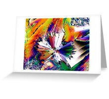 Psychedelic Symphony Greeting Card
