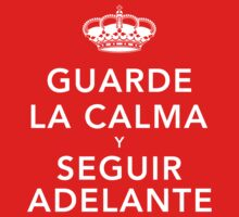 Guarde La Calma Y Seguir Adelante Kids Clothes