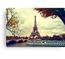 The Eiffel Tower Canvas Print