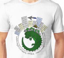 Baby Kaiju Inside Green Unisex T-Shirt