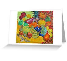 Sweet fruits Greeting Card