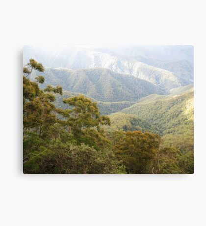 Mountain Light - New England National Park Canvas Print
