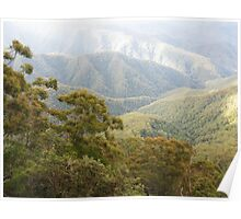 Mountain Light - New England National Park Poster