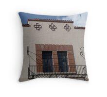 Santa Fe Architectural Detail  Throw Pillow