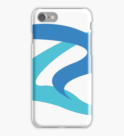 Curvy Lined iPhone Case/Skin