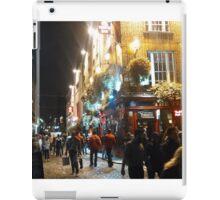 Temple Bar, Dublin, Ireland iPad Case/Skin