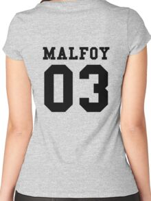 MALFOY 03 Women's Fitted Scoop T-Shirt