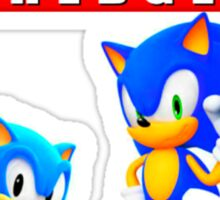 Sonic the hedgehog Sticker