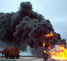 Fire Fighting by vanorange