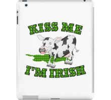 Kiss me I'm Irish iPad Case/Skin
