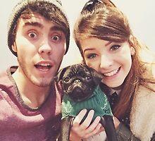 Zoe, Alfie, and Nala. by xcinderellax