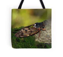Semi Cicada Tote Bag