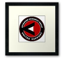 Advanced Research Group United Support Framed Print