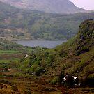 Llnnau Mymbyr from Capel Curig by Trevor Kersley