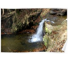 Waterfall - River Rye Poster