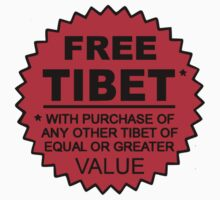 Free Tibet by mobii