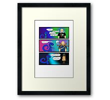 Cool Clothes. And a Beard. Framed Print