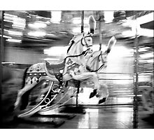 Hold Your Horses Photographic Print