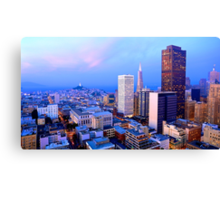 San Francisco Cityscape at Dusk Canvas Print