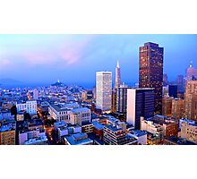 San Francisco Cityscape at Dusk Photographic Print