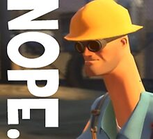 TF2 nope! Engineer, funny. by endgameendeavor