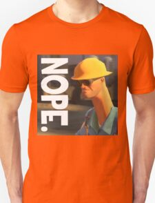 TF2 nope! Engineer, funny. T-Shirt