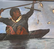 African Fisherman by Sandra Gray