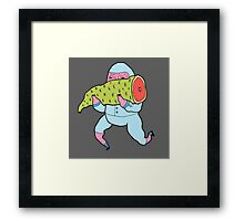 Meat thief Framed Print