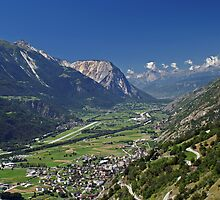 Rhone Valley, Switzerland by Fran E.