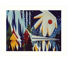 Canadian Sky Art Print
