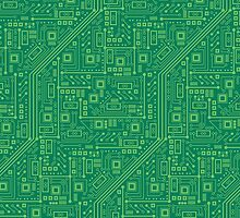 Robot Circuit Board by robyriker