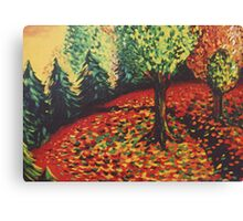Dance of the Leaves Canvas Print