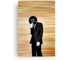 Vinyl Head Canvas Print