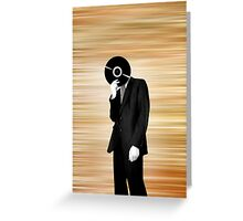 Vinyl Head Greeting Card