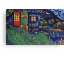 Enchanted Hut Canvas Print