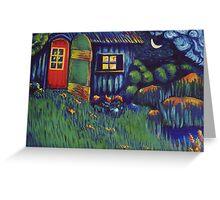 Enchanted Hut Greeting Card