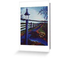 Garden on the Lake Greeting Card