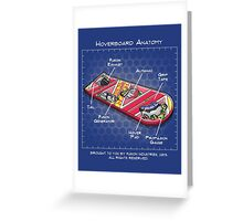 Hoverboard Anatomy Greeting Card