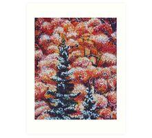 Harmony Between Fall and Winter Art Print