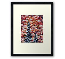 Harmony Between Fall and Winter Framed Print
