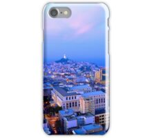San Francisco Cityscape at Dusk iPhone Case/Skin
