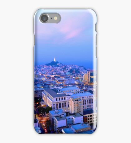 San Francisco Cityscape at Dusk iPhone Case/Skin