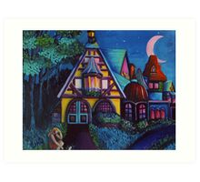 Mystic Evening Art Print